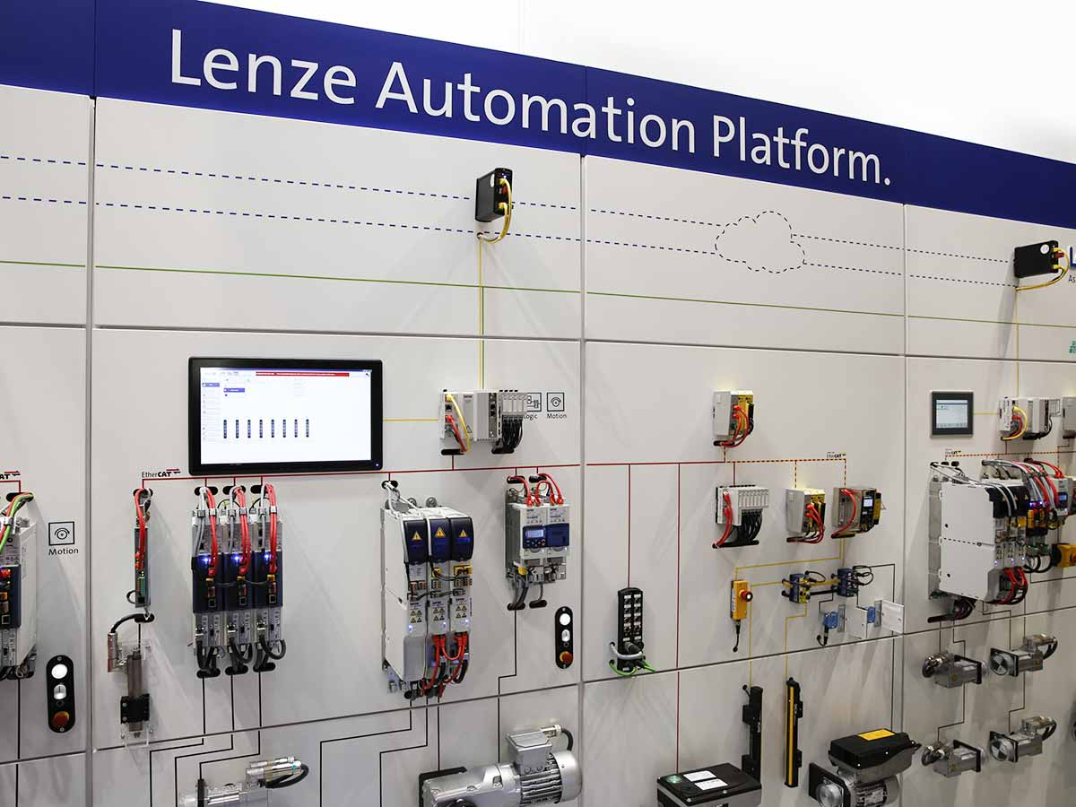 Repositioning Lenze as an authority on motion-centric automation